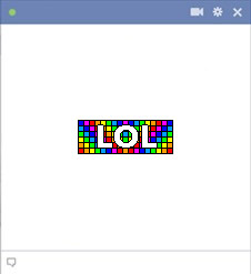 emoticone facebook lol