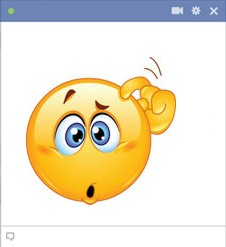 smiley facebook perdu