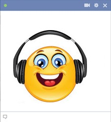 smiley facebook musique